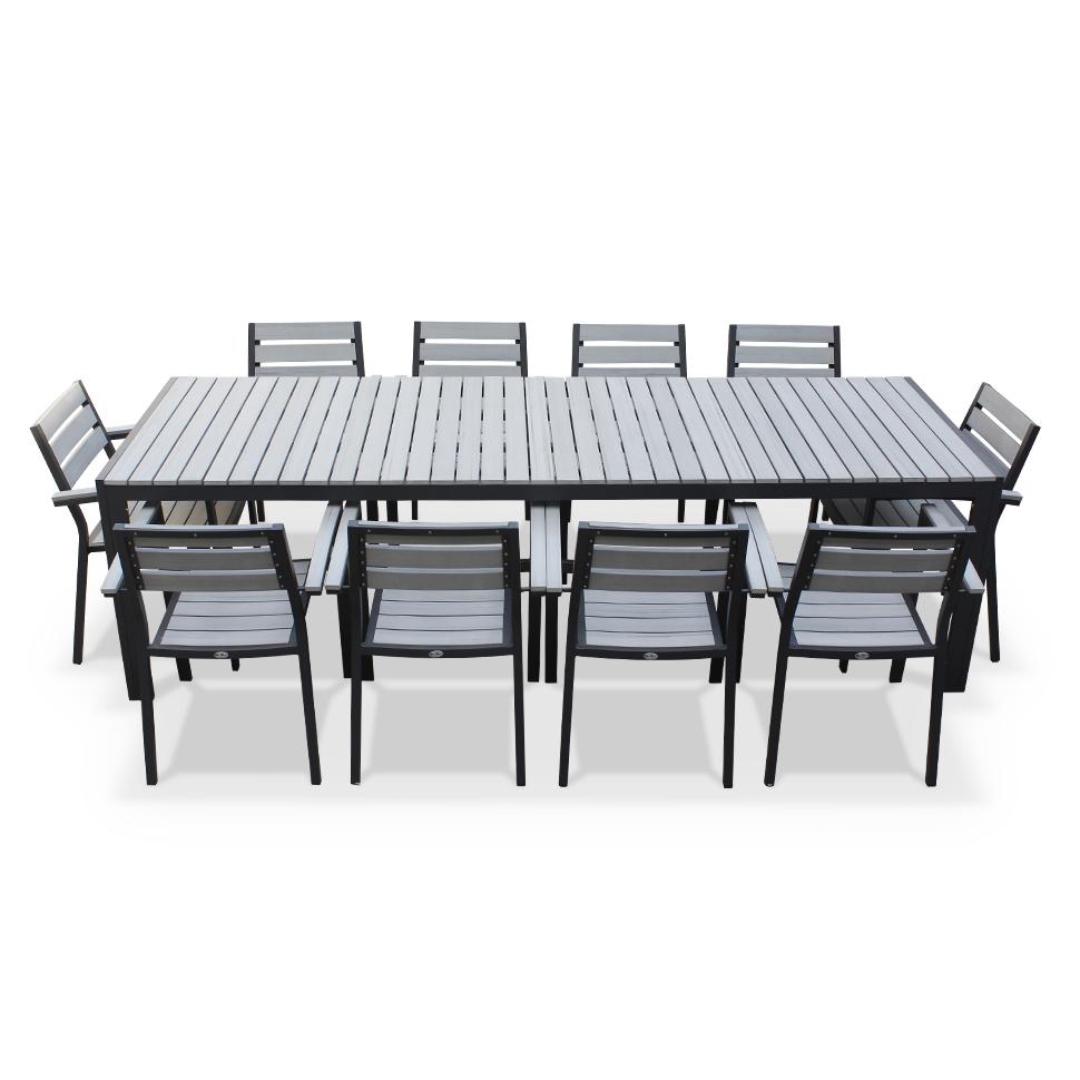 salon de jardin 10 12 personnes aluminium