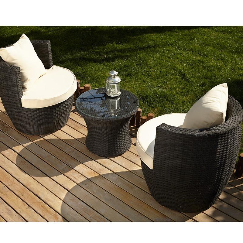 Salon de jardin rond cdiscount - Maison mobilier et design