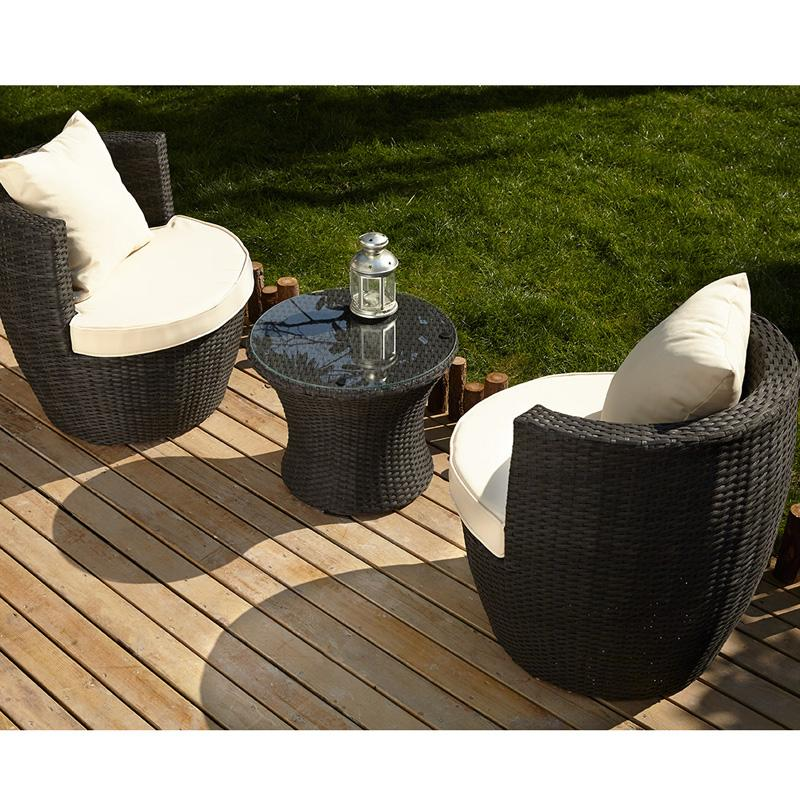 2 Jardin Wicker Places Tressee De Salon Resine TlFcKJ31
