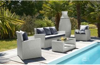 Stunning Salon De Jardin Blanc Et Turquoise Ideas - House Design ...