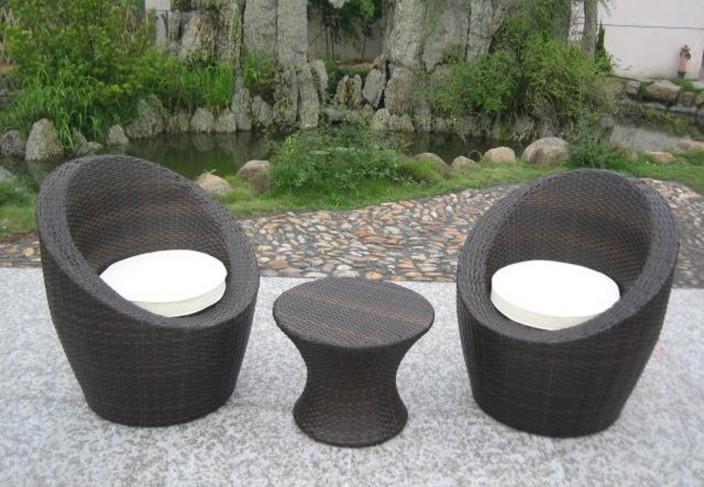 salon de jardin 3 pieces totem
