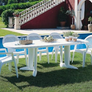 Salon De Jardin Pvc Blanc. Top Meuble De Jardin Blanc Lesmeubles ...