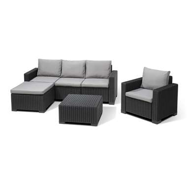 salon de jardin 4 pieces allibert