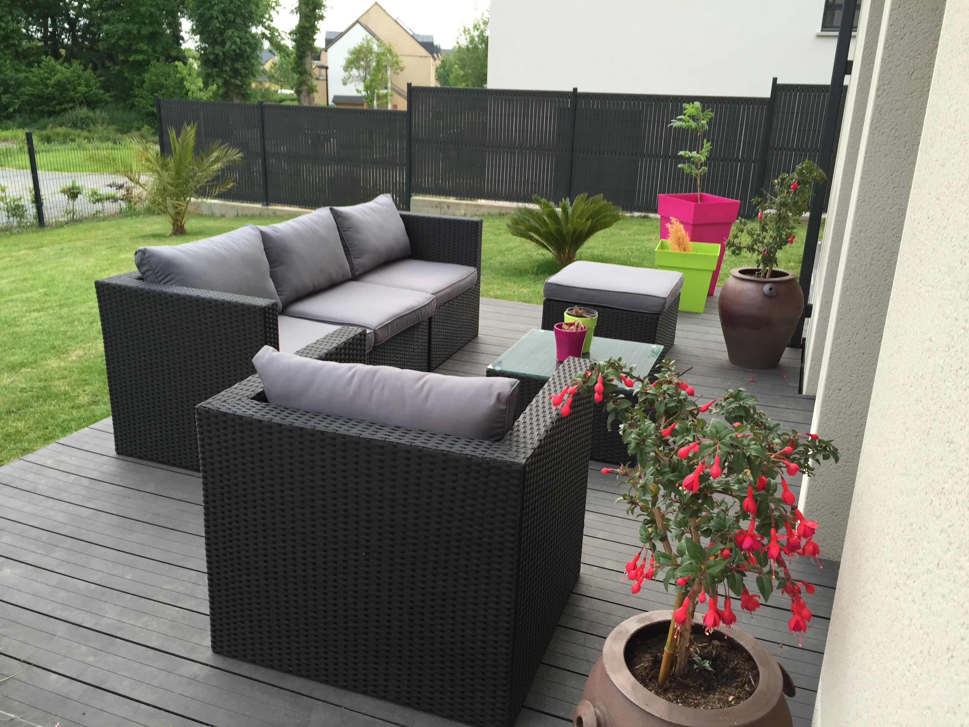 salon de jardin 5 places - benito