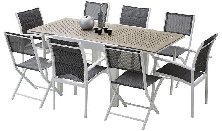 Beautiful Table De Jardin Extensible En Solde Pictures - House ...