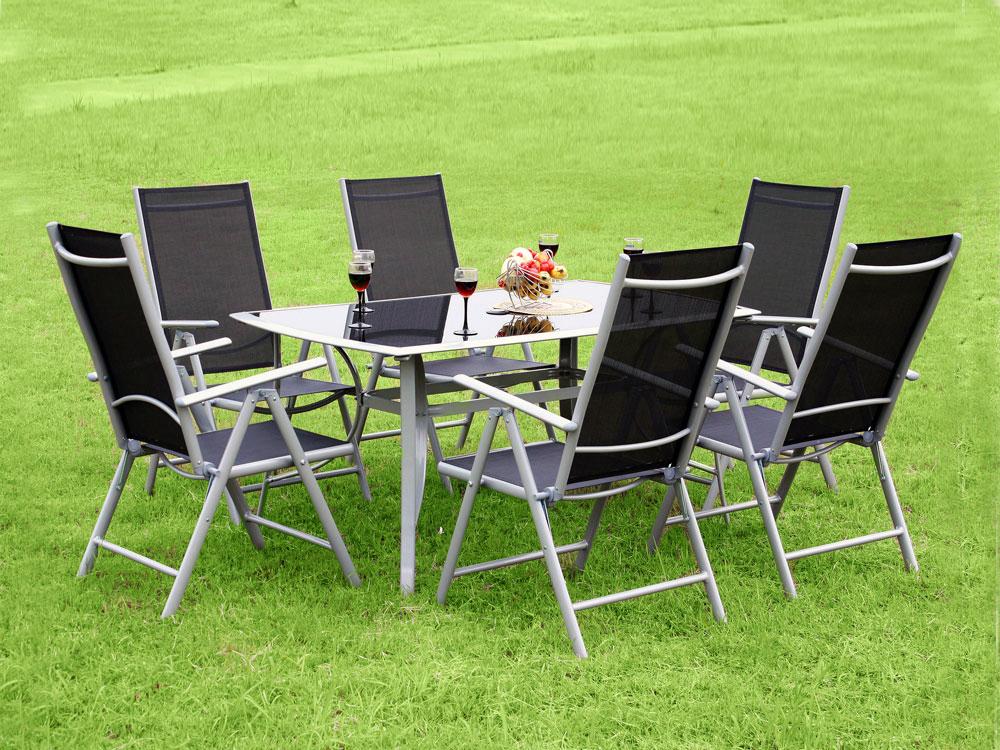 salon de jardin 6 chaises