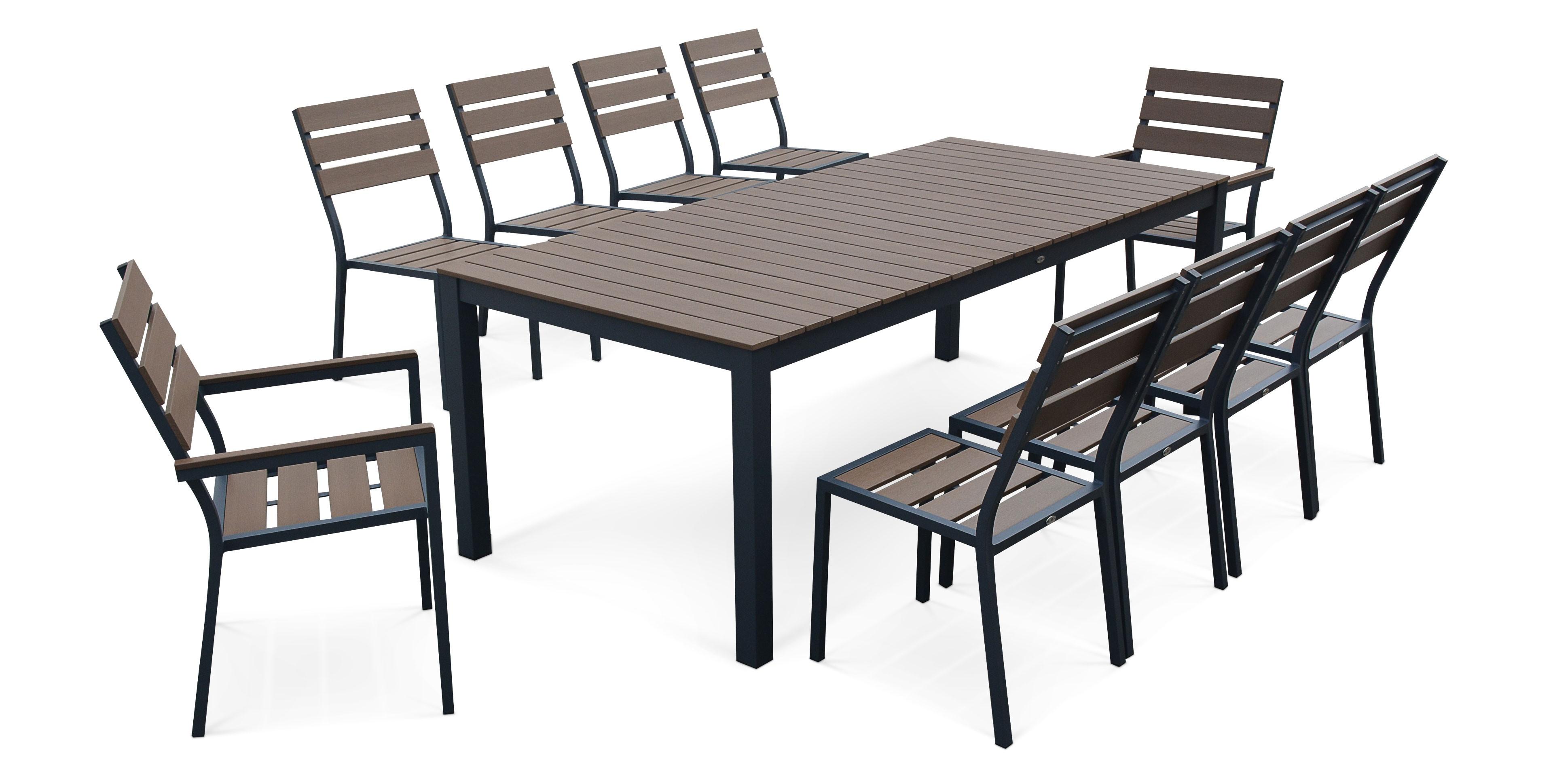 salon de jardin 8 chaises