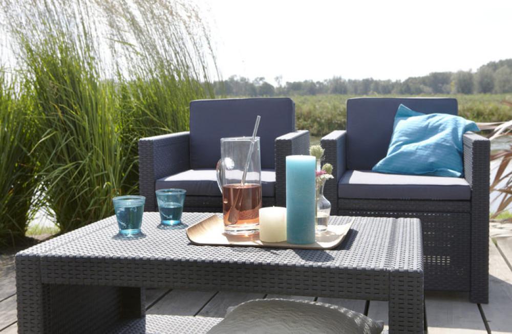 Table Salon De Jardin Allibert