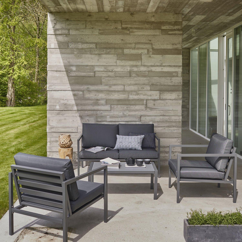 salon de jardin bas aluminium
