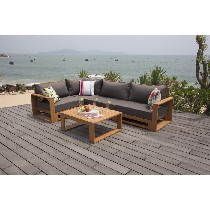 Beautiful Table De Jardin En Bois Robinier Gallery - House Design ...