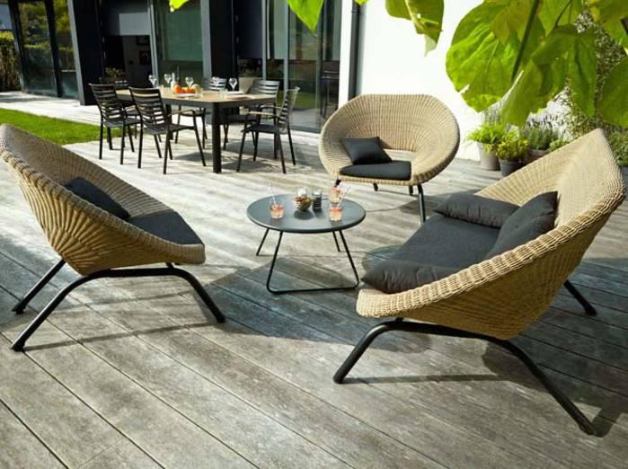 Mobilier de jardin en teck castorama - Maison mobilier et design