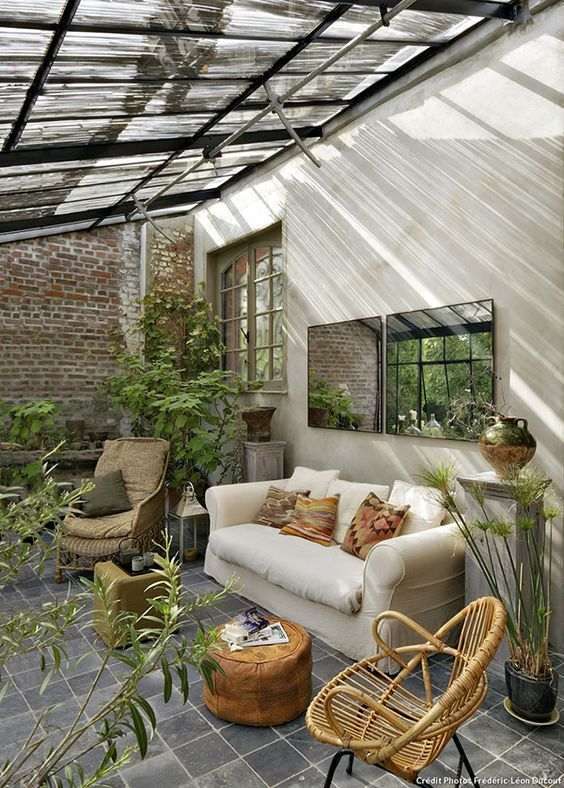 salon de jardin d'hiver