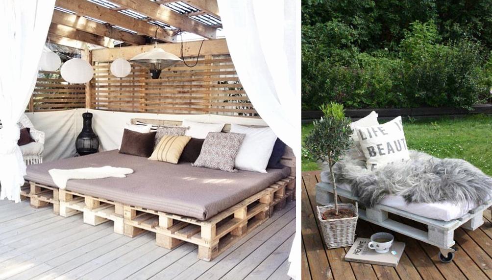 Emejing Idee Salon De Jardin Palette Ideas - Design Trends 2017 ...