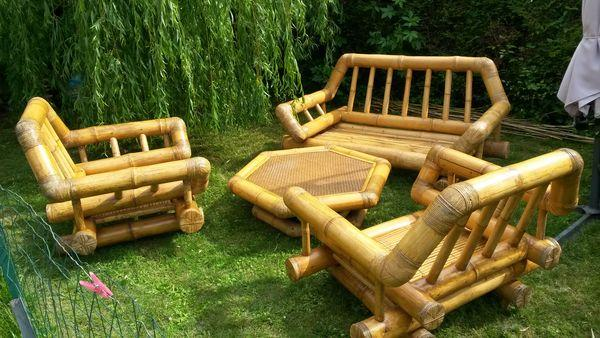 Salon En Jardin Salon De De Bambou Jardin oBeWdCxr