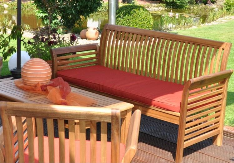 salon de jardin en bois cdiscount
