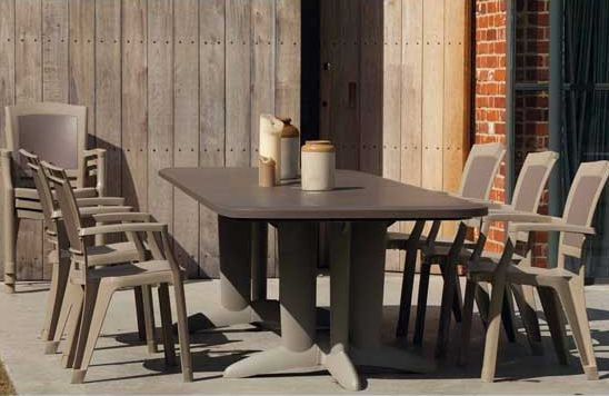 Beautiful Table De Jardin Plastique Marron Images - House Design ...