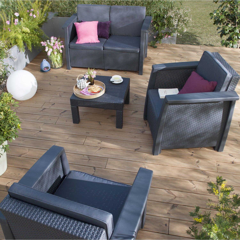 Beautiful Salon De Jardin Allibert Lounge Set Prix Pictures ...