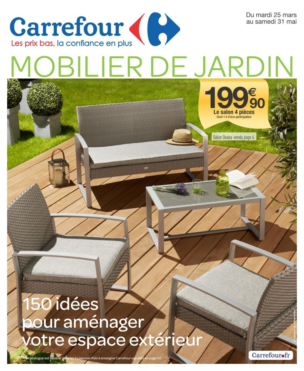 salon de jardin intermarche