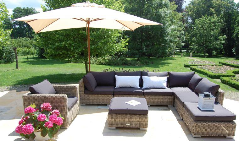 salon de jardin luxe