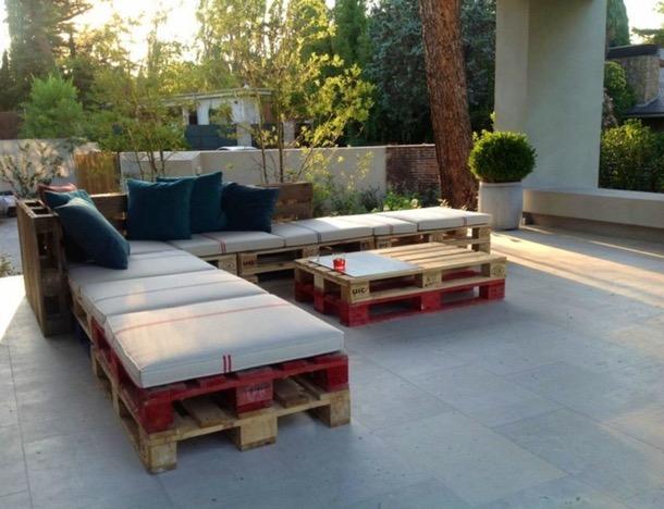 salon de jardin marocain