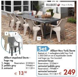 salon de jardin new york allibert