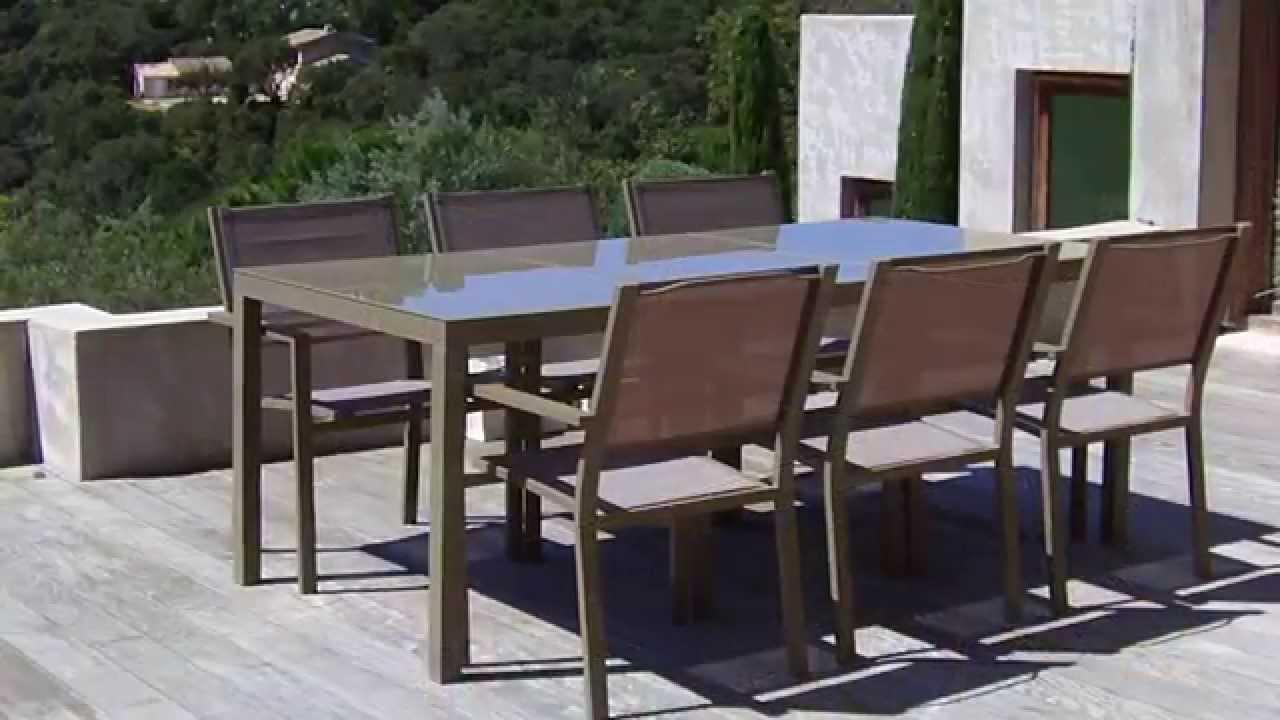Salon de jardin barcelona oogarden - Abri de jardin et balancoire idée