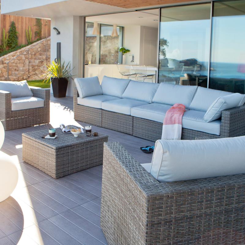 Awesome Salon De Jardin Sur Terrasse Gallery Amazing House Design