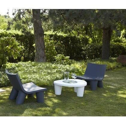 salon de jardin slide