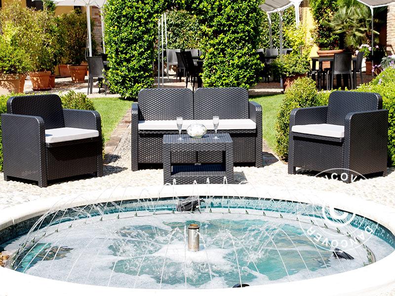 Beautiful Salon De Jardin Sorrento Taupe Pictures - House Design ...