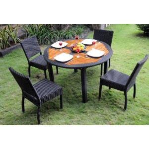 salon de jardin table ronde
