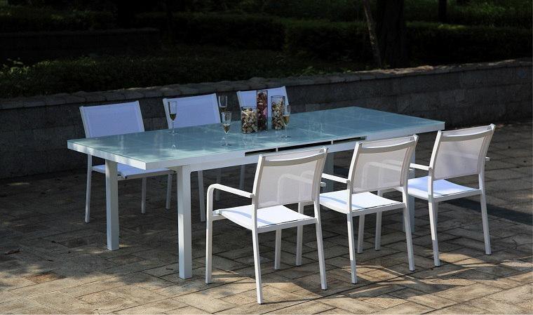 salon de jardin table verre