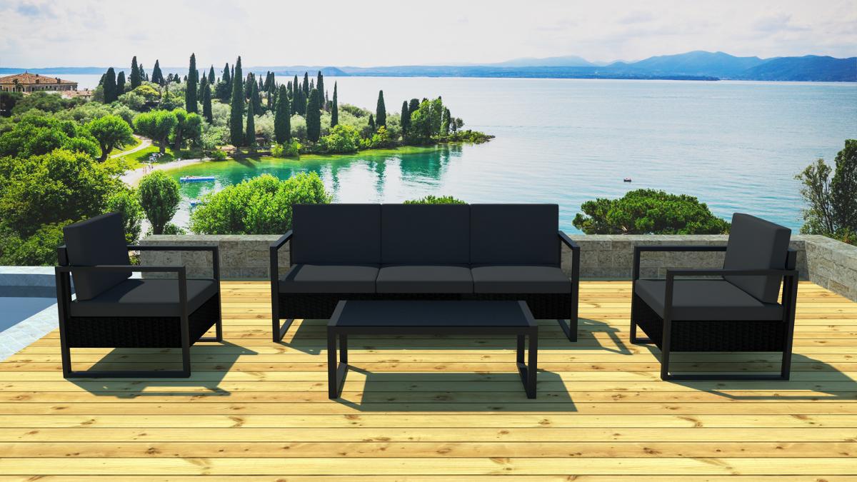 Emejing Table De Jardin Alu Resine Pictures - Awesome Interior Home ...