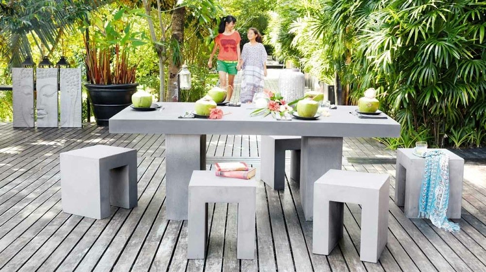 Best Table De Jardin Urban Contemporary - Awesome Interior Home ...