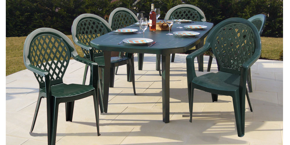 Table De Jardin Grosfillex Vega