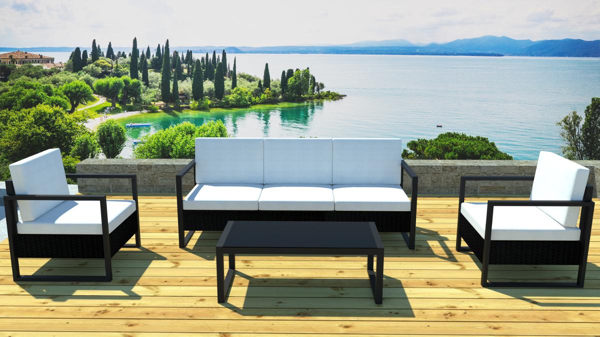 Awesome Table De Jardin Alu Resine Contemporary - House Design ...