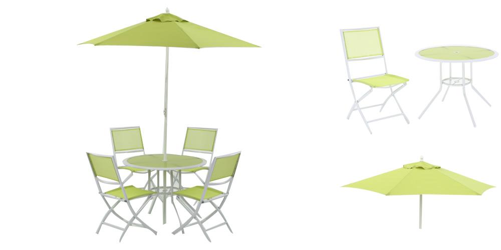 Awesome Salon De Jardin De Couleur Verte Images - House Design ...