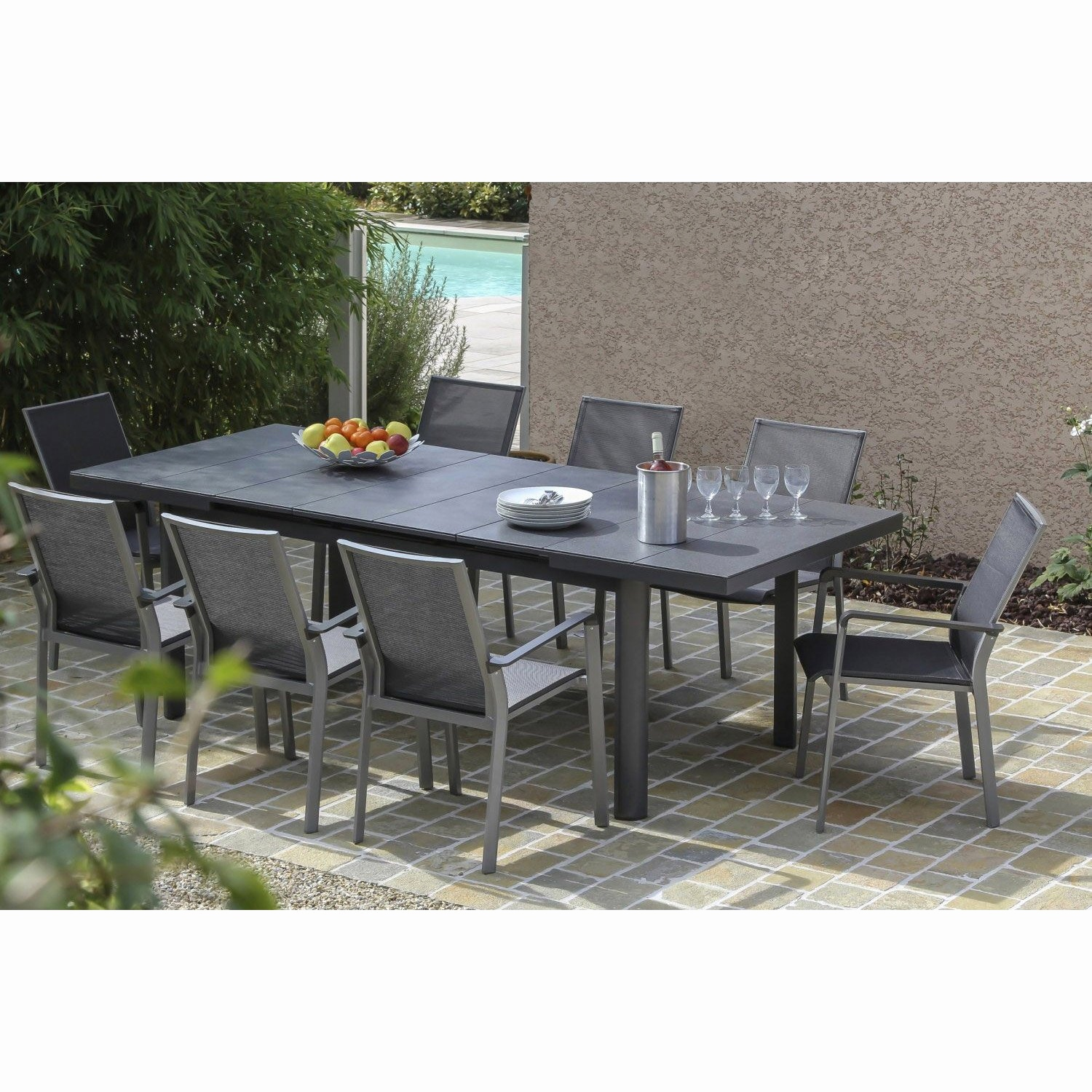 Table Merlin Personnes Jardin Leroy 12 De kwPn0O