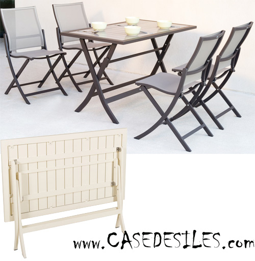 Emejing Table De Jardin Pliable Cdiscount Ideas - House Design ...