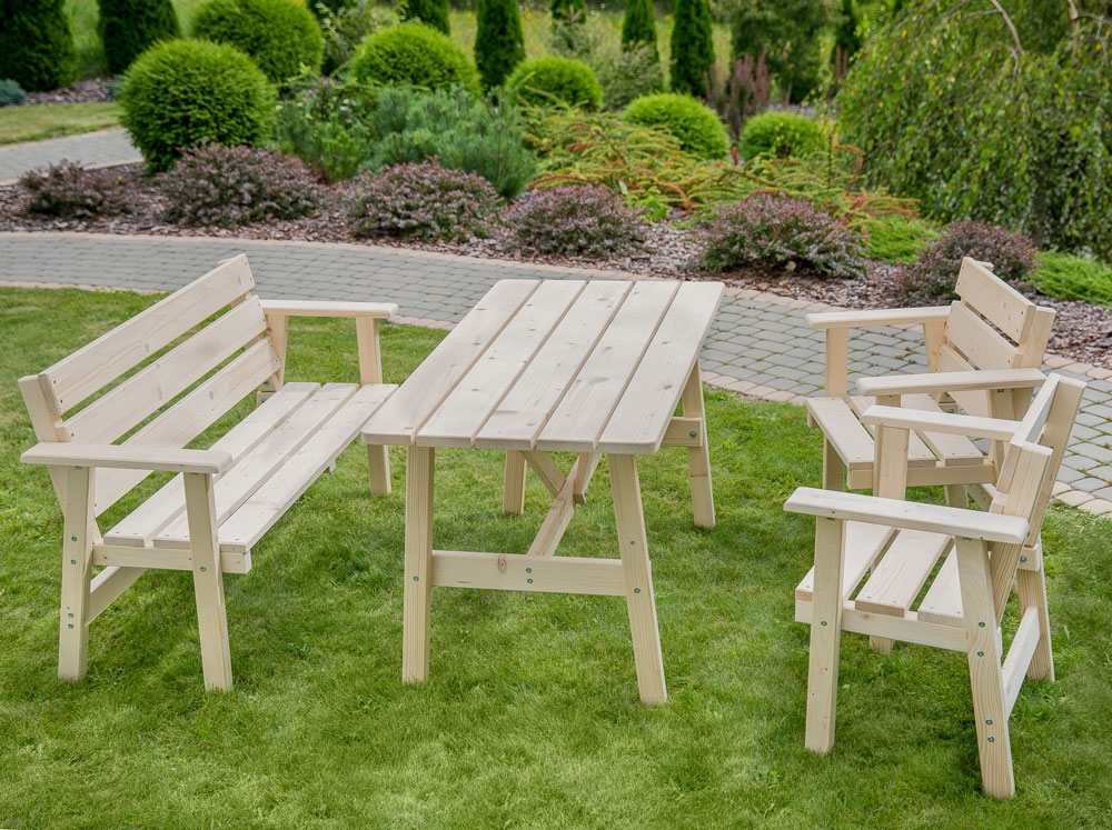 table de jardin 130 x 70