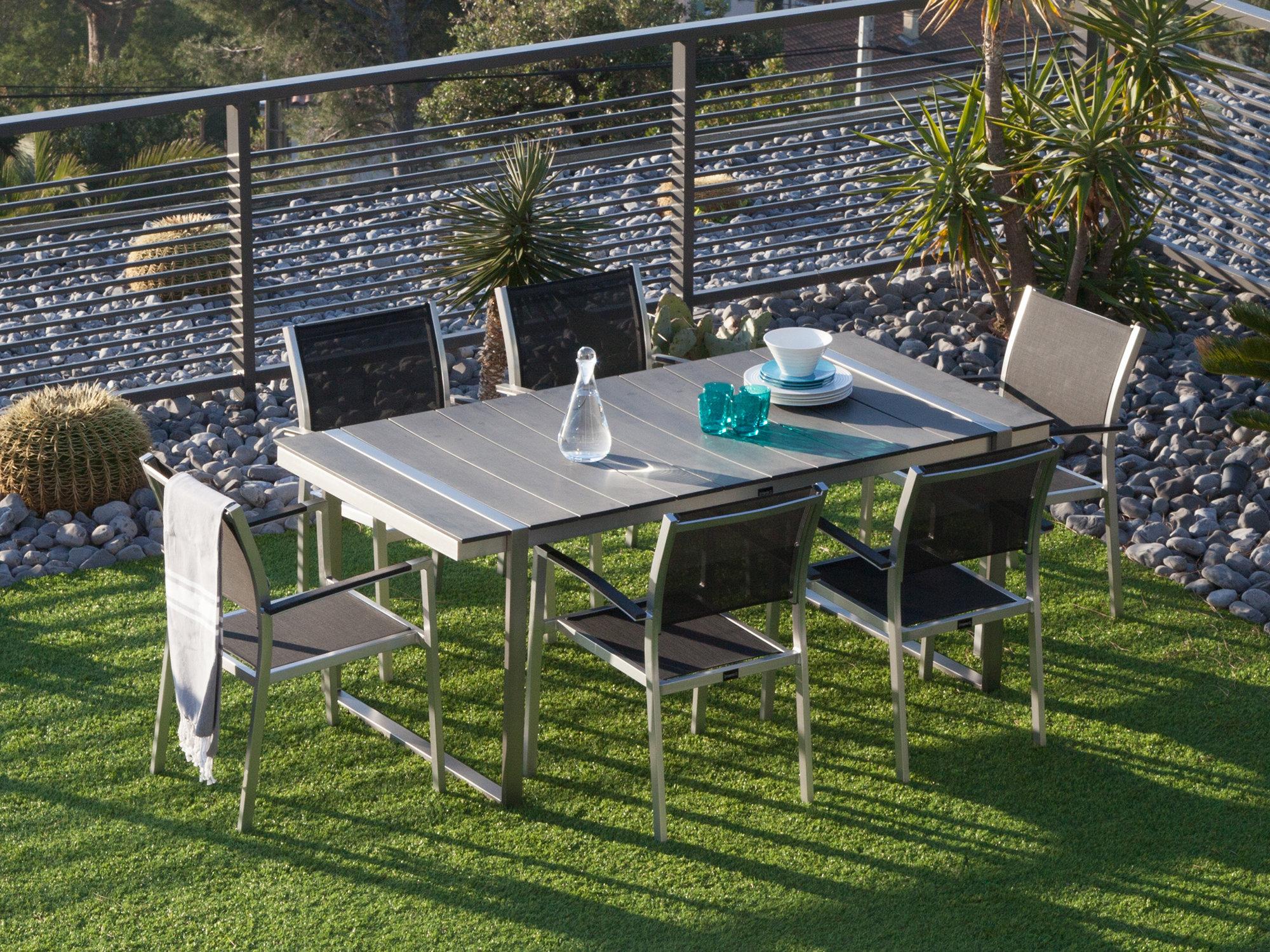 table de jardin 180 x 90