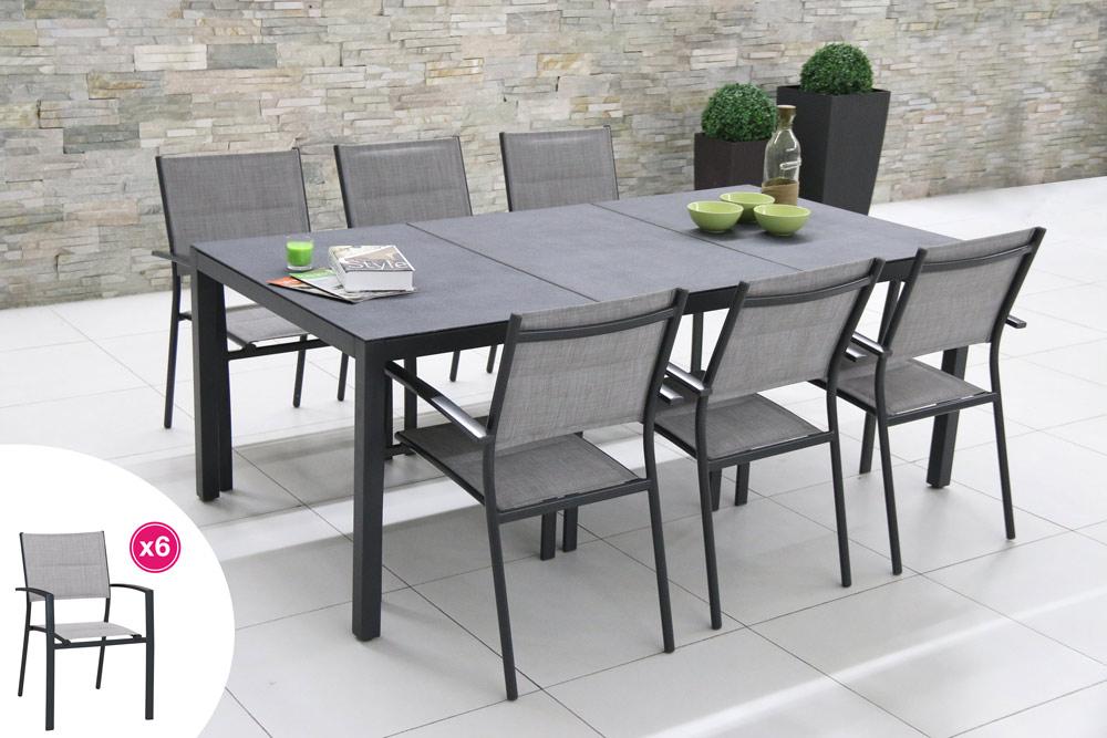 table de jardin 2 metre