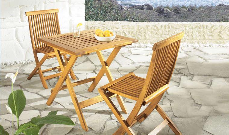 table de jardin yfone wood