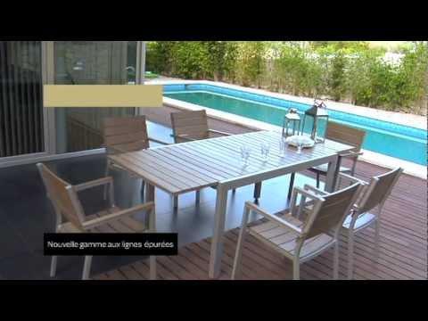 table de jardin 2 personnes carrefour