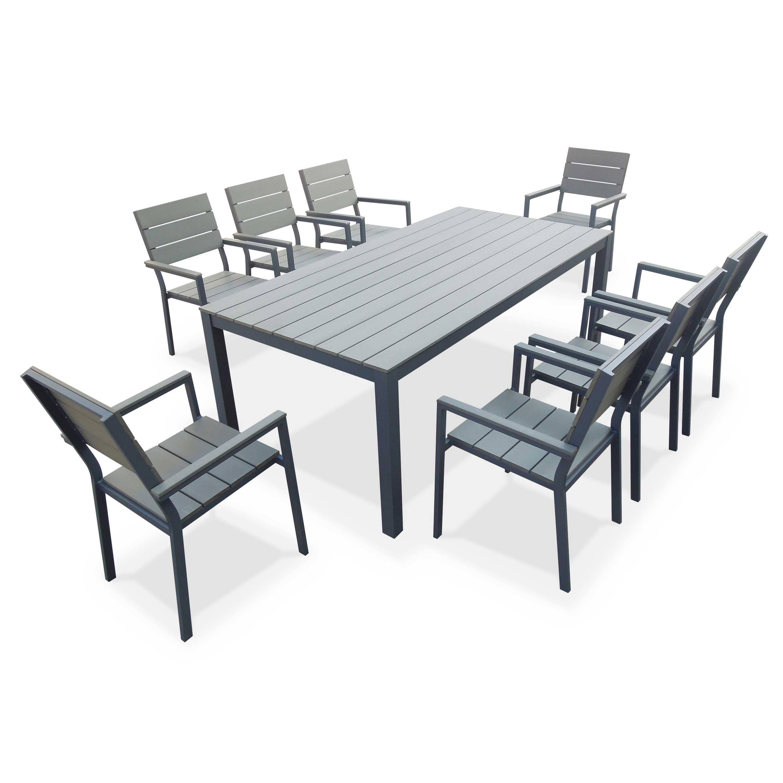 table de jardin 200 cm