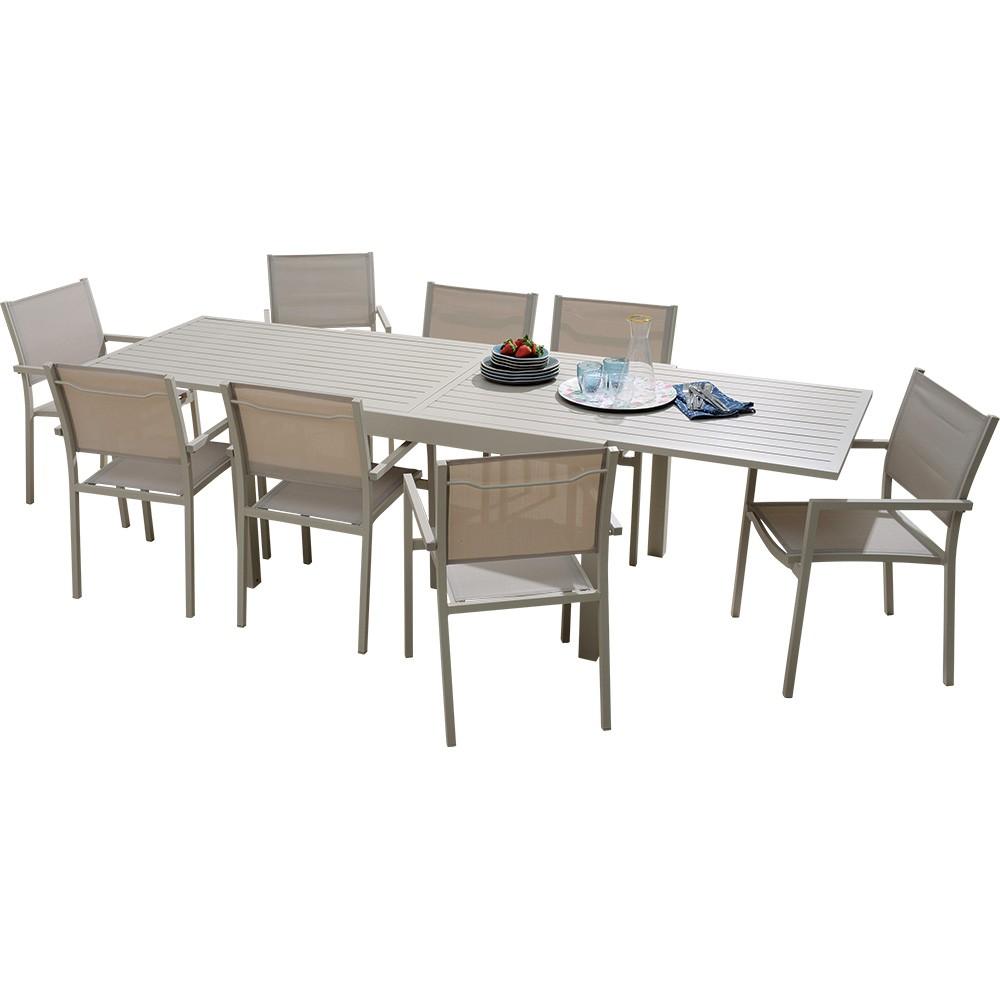 table de jardin 270 cm