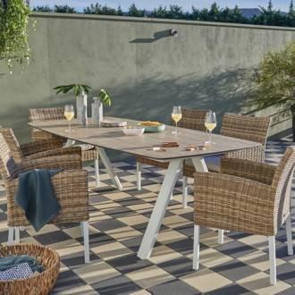 table de jardin 2m50