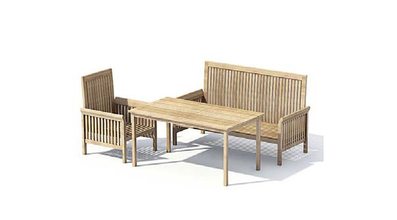 table de jardin 3d