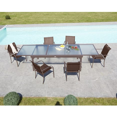 table de jardin 3m20