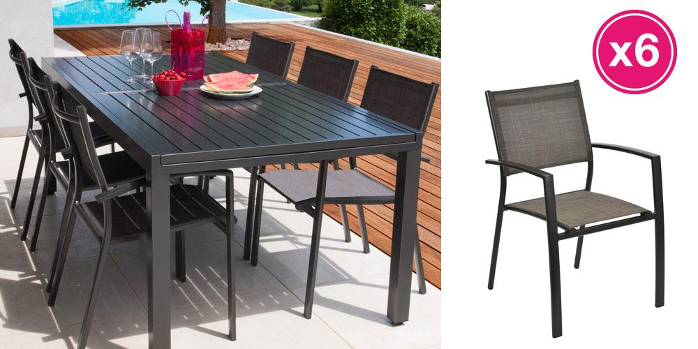 table de jardin 3m