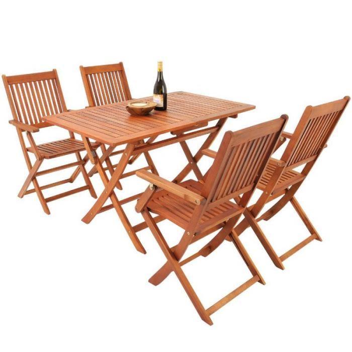 table de jardin 4 chaises